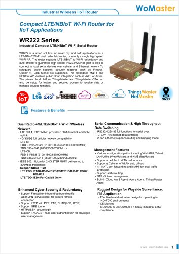 WR222 Series