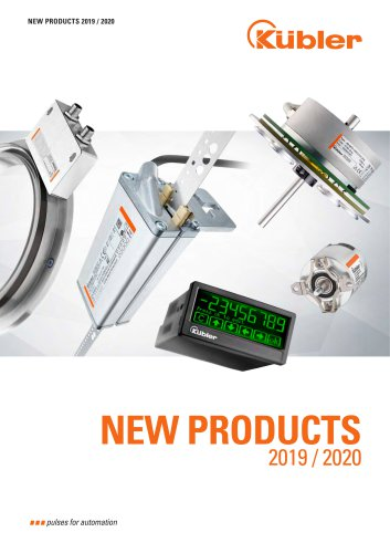 New Products 2019 / 2020