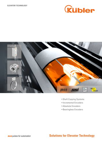 Solutions for Elevator Technology