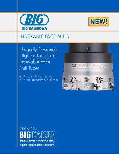 BIG Daishowa Indexable Face Mills (Supplement)