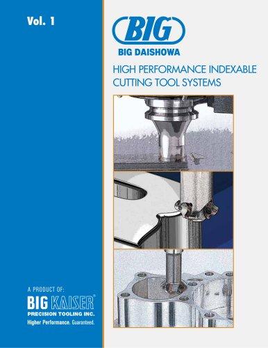 BIG Daishowa Vol. 1 Indexable Cutting Tools