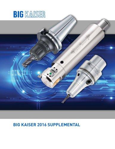 BIG KAISER Fall 2016 Supplemental