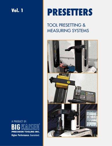 BIG KAISER Vol. 1 Tool Presetting & Measuring Systems