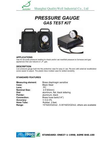 Low Pressure Test Kit