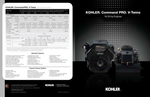 CH 640 ESSENCE - Kohler - Catalogue PDF | Documentation technique