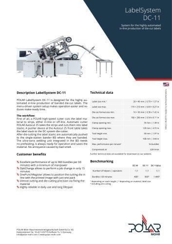 LabelSystem DC-11