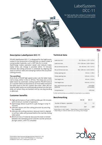 LabelSystem DCC-11