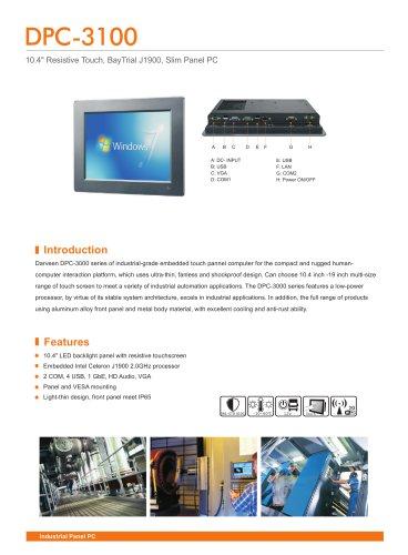 DPC-3100 Industrial Panel PC