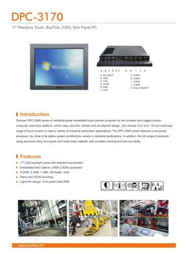 DPC-3170 Industrial Panel PC