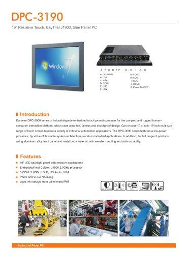 DPC-3190 Industrial Panel PC
