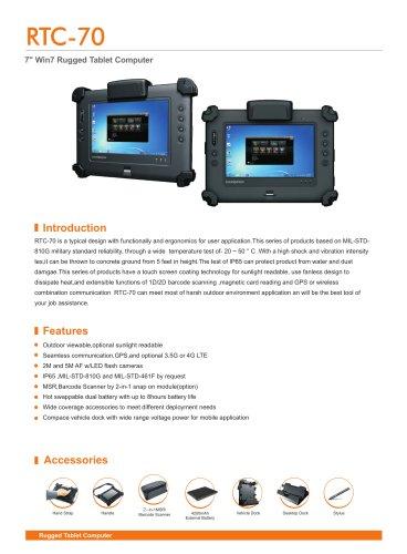 RTC-70 mobile data terminal