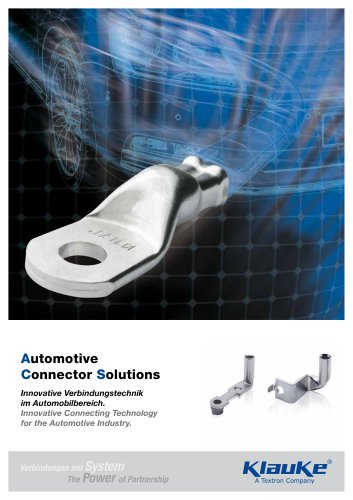 Automotive Connector Solutions