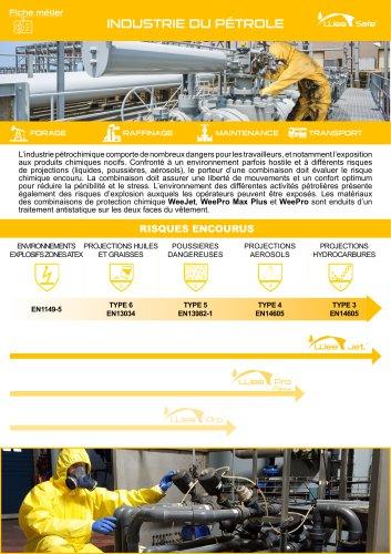 Fiche Métier - Industrie du pétrole