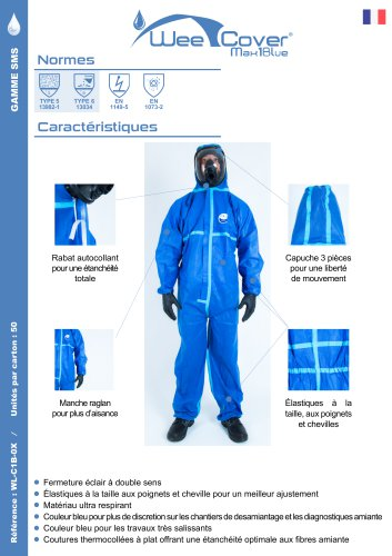 WeeCover Max 1 Blue ®