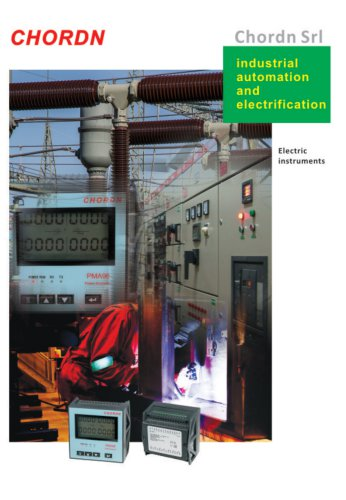 Industrial automation and electrification