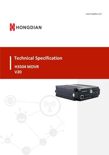 H3504 MDVR V20