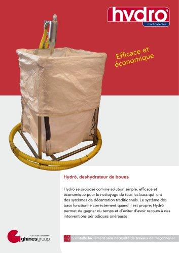 HYDRÒ – DESHYDRATEUR DE BOUES
