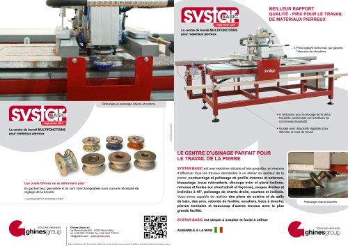 SYSTAR BASIC – LA MACHINE MULTIFONCTION POUR PLANS DE CUISINE ET SALLE DE BAINS