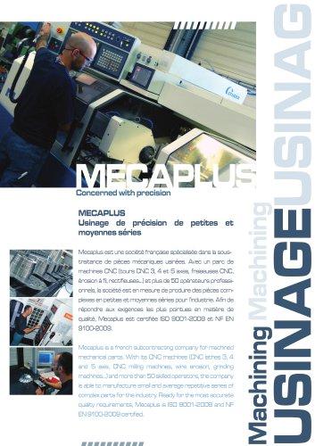 MECAPLUS Usinage de précision