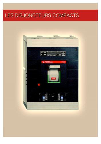 Les disjoncteurs compacts