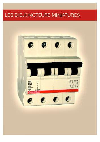 Les disjoncteurs miniatures