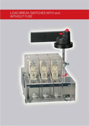 Load Breaker Switches With and Without Fuse