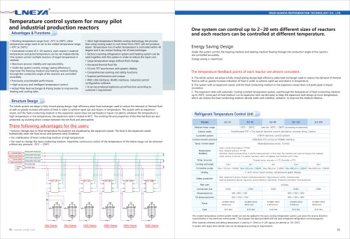 LNEYA-19-Temperature Control System For Many Pilot And Industrial Production Reactors