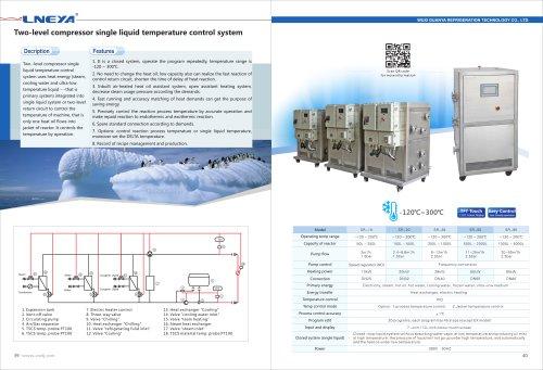 LNEYA-21-Two-Level Compressor Single Liquid Temperature Control System