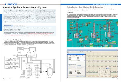 LNEYA-22-Chemical Synthetic Process Control System