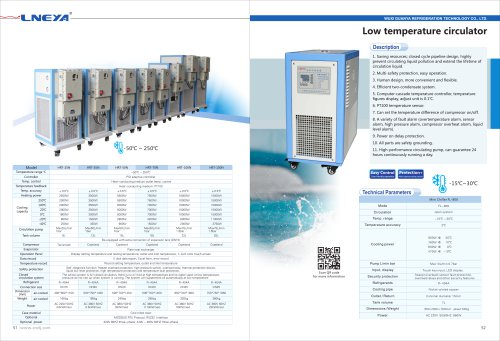 LNEYA-27-Low Temperature Circulator