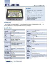 Xingtac Industrial Panel PC TPC-8080e