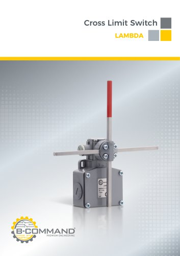 Cross Limit Switch Series Lambda B-COMMAND