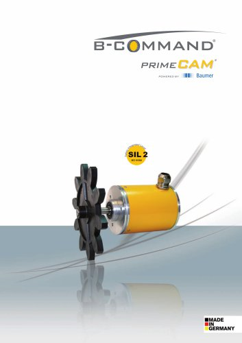Electronic Rotary Limit Switch primeCAM with SIL2-Approval