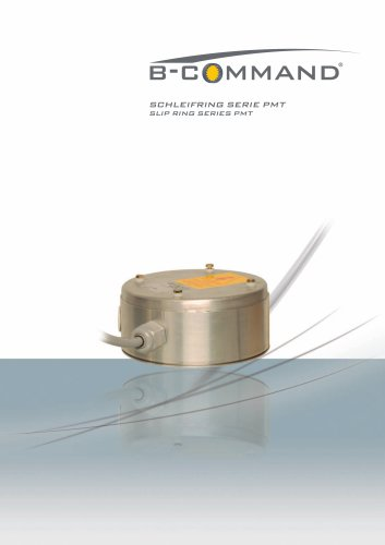 Slip Ring Series PMT B-COMMAND