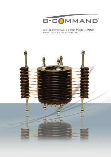 Slip Ring Series PSG / PZG B-COMMAND