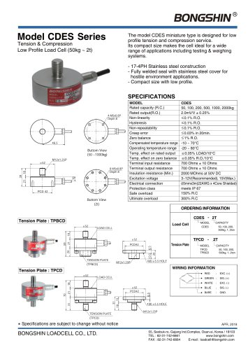 Model Series CDES