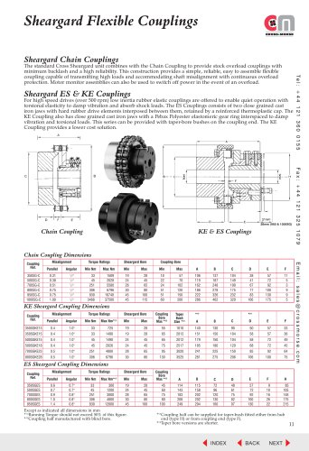 Sheargard Flexible Couplings