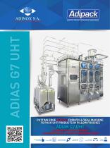 ASEPTIC POUCH PACKAGING MACHINE G7