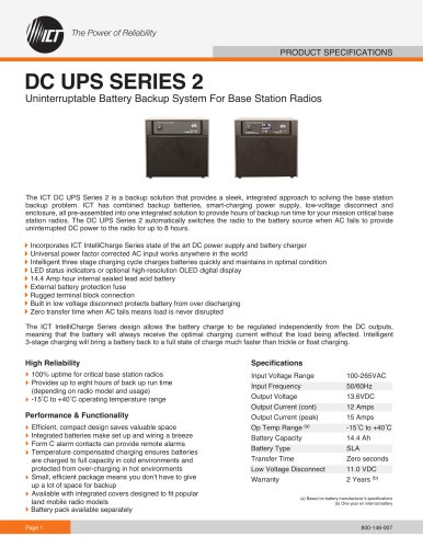 DC UPS SERIES 2