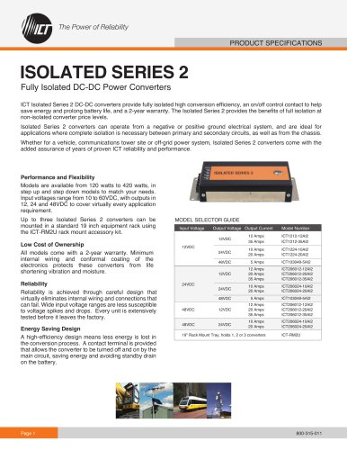 ISOLATED SERIES 2