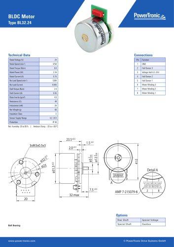BLDC Motor Type BL32.24