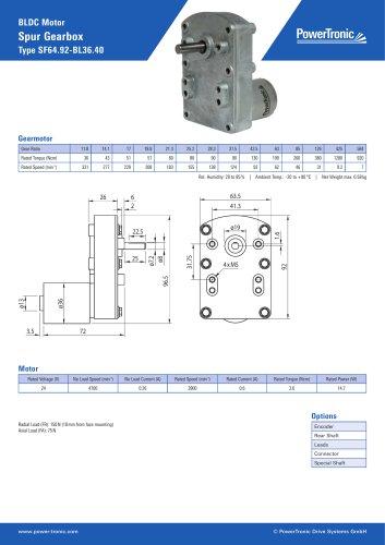 Type SF64.92-BL36.40