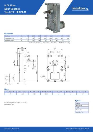Type SF70.119-BL36.40