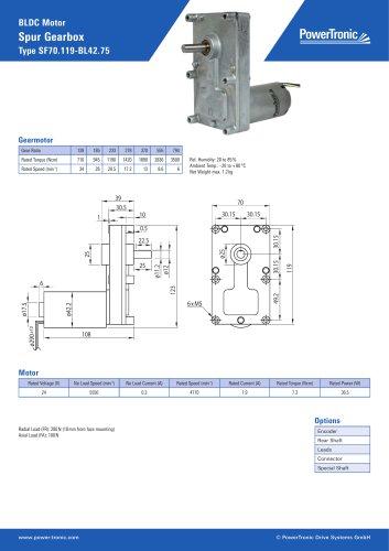 Type SF70.119-BL42.75