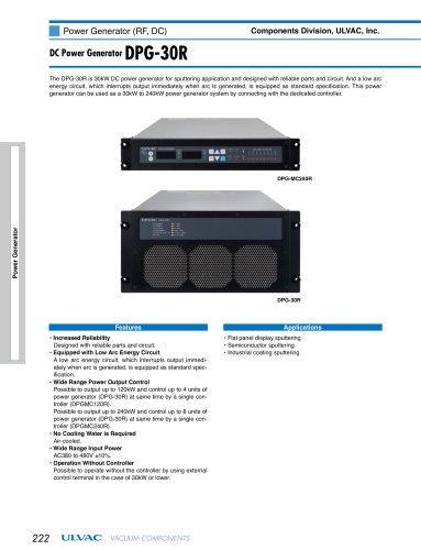 DC Power Generator DPG-30R