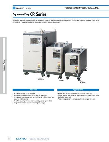 Dry Vacuum Pump CR Series