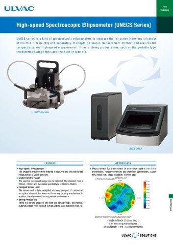High-Speed Spectroscopic Ellipsometre [UNECS Series]