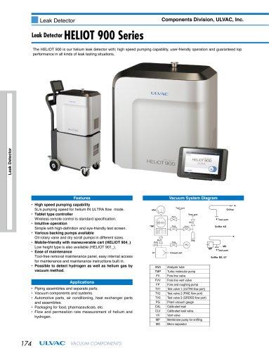 HLeak Detector HELIOT 900 Series