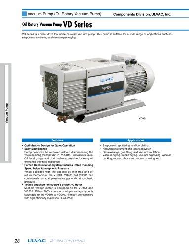Oil Rotary Vaccum Pump VD Series