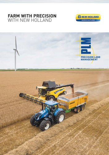 FARM WITH PRECISION WITH NEW HOLLAND